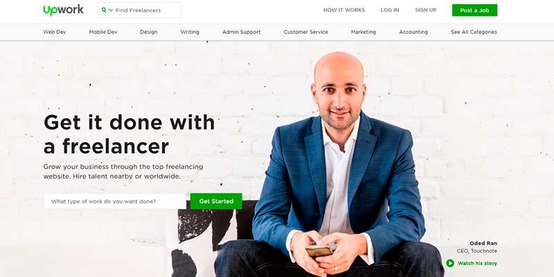 Freelance Websites Make Money Online upwork
