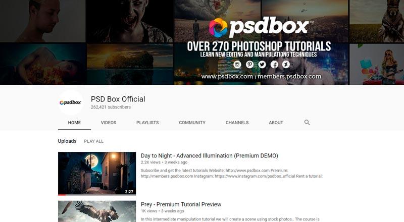 YouTube Channel List: Best Photoshop Tutorials Youtube